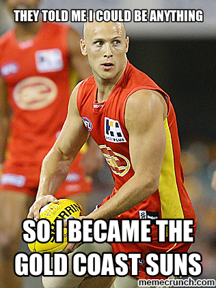 gary ablett is the gold coast suns