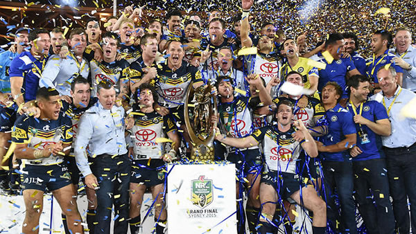 NRL Cowboys win