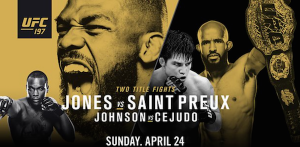 UFC 197 Betting